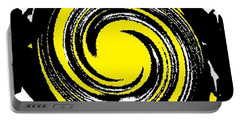 Portable Battery Charger featuring the digital art Aimee Starry Night by Catherine Lott