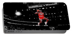 Chicago Bulls Photographs Portable Battery Chargers