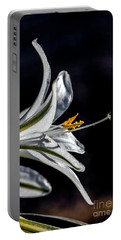 Ajo Lily Close Up Portable Battery Charger