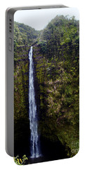 Akaka Falls Portable Battery Charger by Patricia Griffin Brett