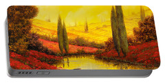 Al Tramonto Sul Torrente Portable Battery Charger