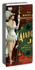 Aladdin Jr Amazon Portable Battery Charger by Terry Reynoldson