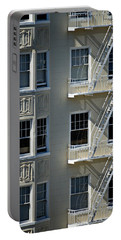 Portable Battery Charger featuring the photograph Alamo Square San Francisco by Steven Richman