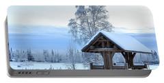 Alaska Winter Pavilion Portable Battery Charger