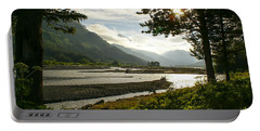 Alaskan Valley Portable Battery Charger by Jennifer White