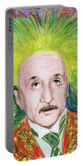 Albert Einstein Portable Battery Charger