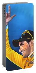 Alberto Contador Portable Battery Charger