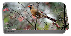 Alert - Northern Cardinal Portable Battery Charger