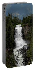Portable Battery Charger featuring the photograph Alexander Falls by Rod Wiens