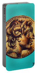 Alexander The Great Portable Battery Charger