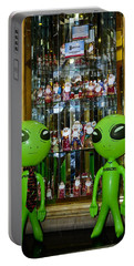 Alien Christmas Tour Portable Battery Charger