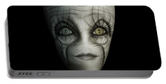 Alien Face Portable Battery Charger