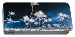 Alien Palm Trees Portable Battery Charger