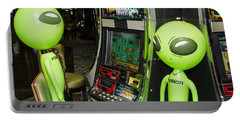 Alien Slot Play  Portable Battery Charger