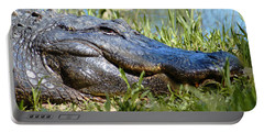 Alligator Smiling Portable Battery Charger