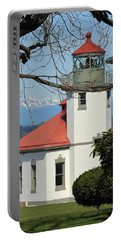 Alki Lighthouse Portable Battery Charger by E Faithe Lester