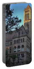 Portable Battery Charger featuring the photograph Allegheny County Courthouse by Steven Richman