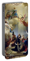 Allegory In Honour Of The Birth Of Henri De France 1820-83 Duke Of Bordeaux In 1820, 1821 Oil Portable Battery Charger
