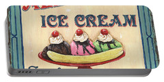 Allie's Ice Cream Portable Battery Charger