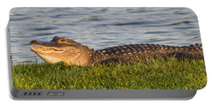 Alligator Smile Portable Battery Charger