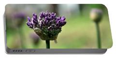 Allium Globe Budding Portable Battery Charger