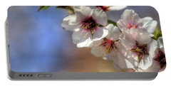 Portable Battery Charger featuring the photograph Almond Blossoms by Jim and Emily Bush
