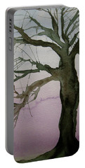 Portable Battery Charger featuring the painting Almost Spring by Beverley Harper Tinsley
