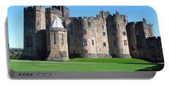 Portable Battery Charger featuring the photograph Alnwick Castle Castle Alnwick Northumberland by Paul Fearn