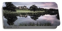 Alnwick Castle Sunset Portable Battery Charger by Dave Bowman