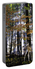 Alone In The Mist Portable Battery Charger