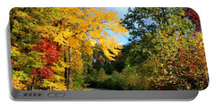 Portable Battery Charger featuring the photograph Along The Road 2 by Kathryn Meyer