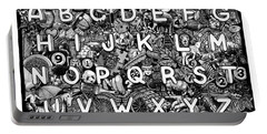 Alphabet Soup Portable Battery Charger