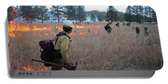 Alpine Hotshots Ignite Norbeck Prescribed Fire Portable Battery Charger
