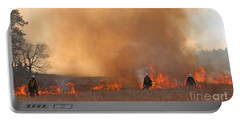 Alpine Hotshots Ignite The Norbeck Prescribed Fire. Portable Battery Charger
