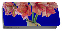 Amaryllis In A Jug Portable Battery Charger