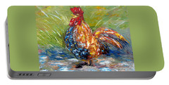 Amazed Rooster Portable Battery Charger