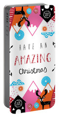 Amazing Christmas Portable Battery Charger