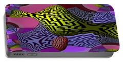 Mandelbrot Maze Portable Battery Charger