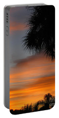 Amazing Sunrise In Florida Portable Battery Charger