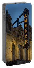 Ambler Theater Marquee Portable Battery Charger by Photographic Arts And Design Studio