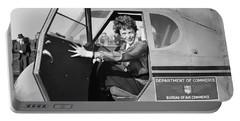 Amelia Earhart - 1936 Portable Battery Charger
