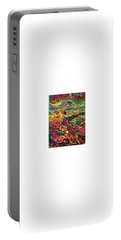 American Abstract Portable Battery Charger by Jonathon Hansen