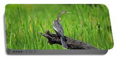 American Anhinga Portable Battery Charger by Al Powell Photography USA