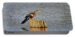 American Anhinga Angler Portable Battery Charger by Al Powell Photography USA