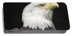American Bald Eagle Profile Portable Battery Charger
