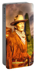American Cinema Icons - The Duke Portable Battery Charger