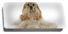 American Cocker Spaniel Portable Battery Charger