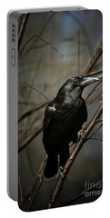 American Crow Portable Battery Charger by Lois Bryan