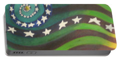 American Flag Reprise Portable Battery Charger