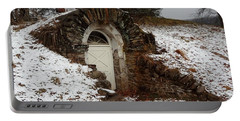 American Hobbit Hole Portable Battery Charger by Michael Porchik